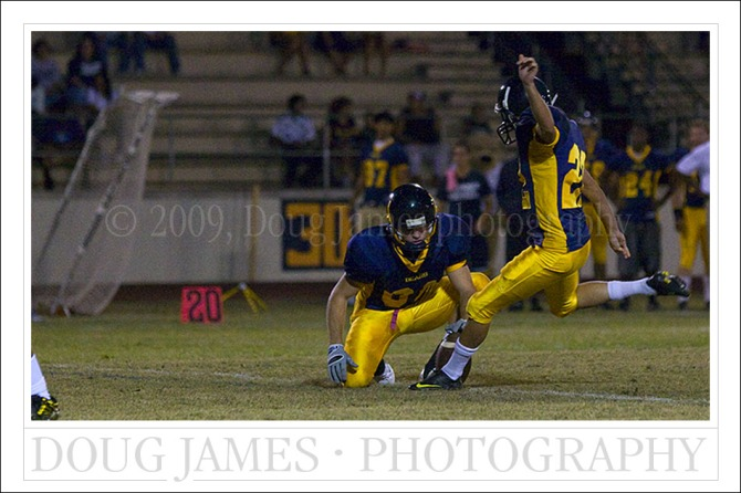 Phoenix College Bears vs. Scottsdale Community College Artichokes - Oct. 17, 2009