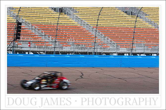 USAC Copper World Classic race at Phoenix International Raceway