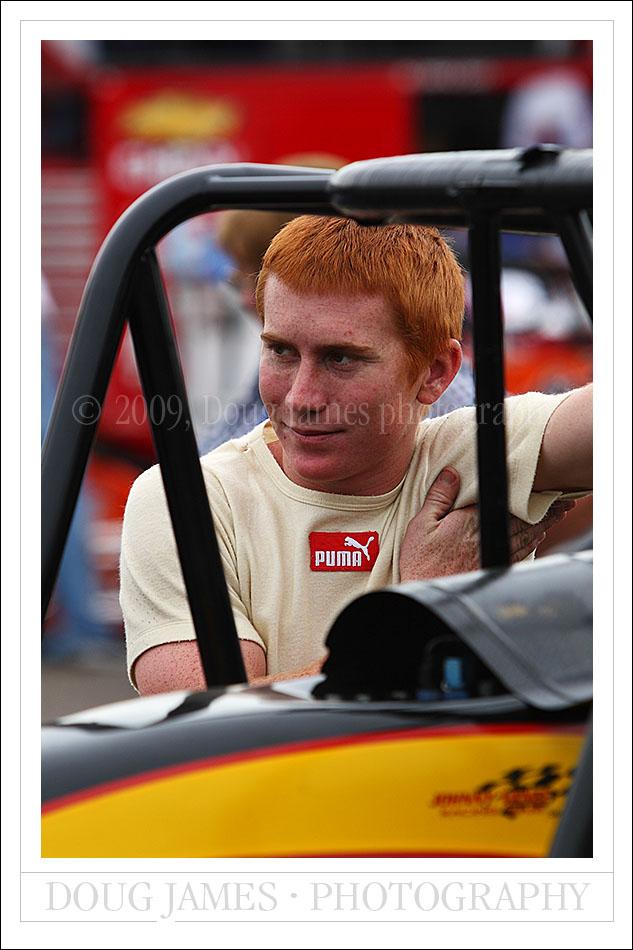 USAC Copper World Classic race at Phoenix International Raceway