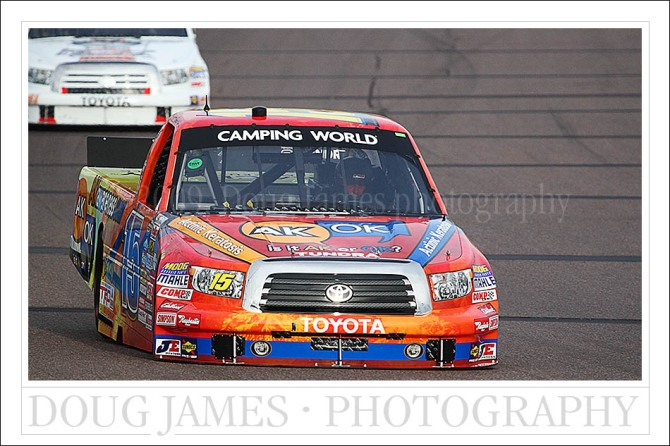 NASCAR Camping World Truck Series Thurs. practice at Phoenix