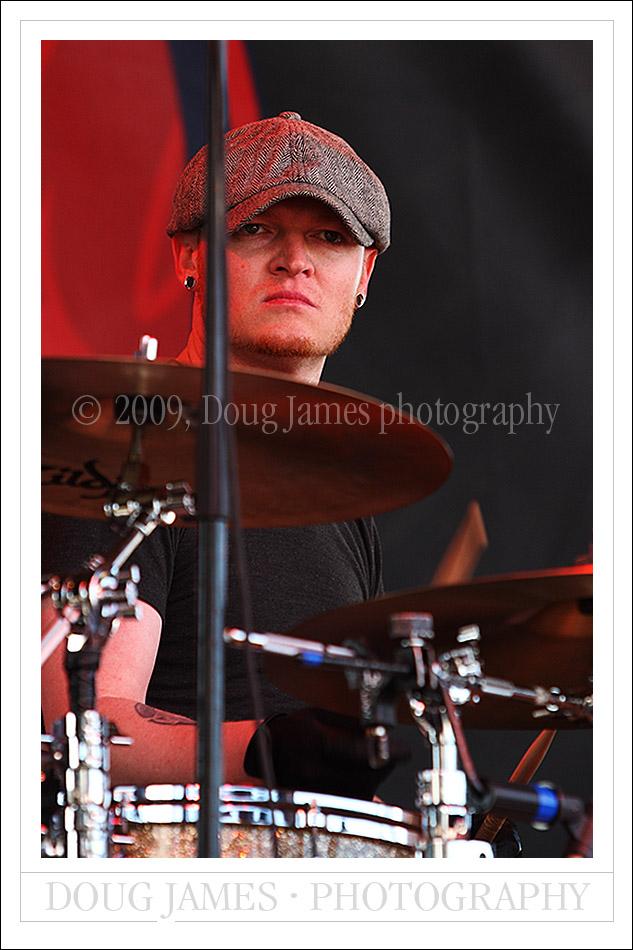 Lifehouse drummer Rick Woolstenhulme Jr.