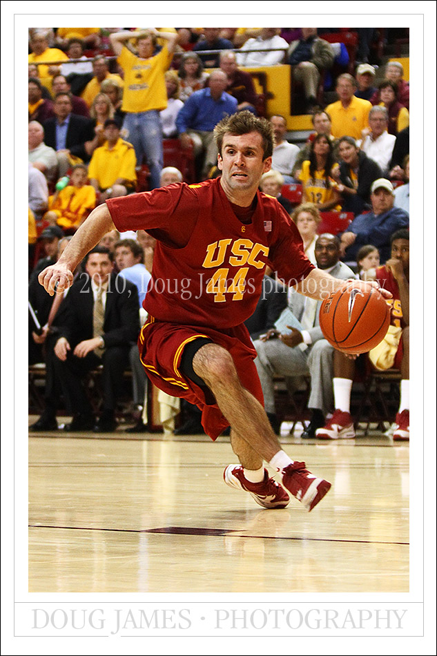 NCAA Basketball: March 4, 2010 - USC Trojans at ASU Sun Devils