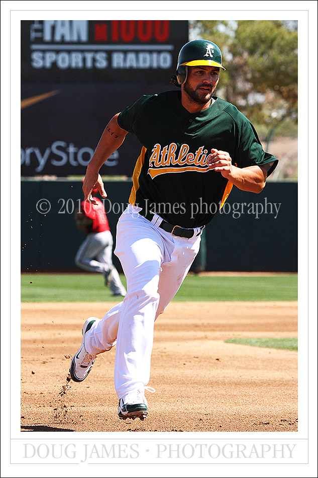 MLB: Spring Training - Oakland Athletics