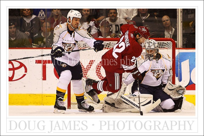 NHL Hockey - Phoenix Coyotes