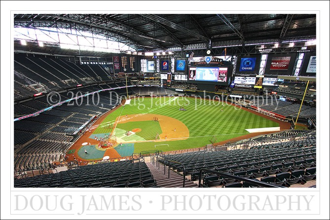 Major League Baseball - Chase Field, Phoenix Arizona