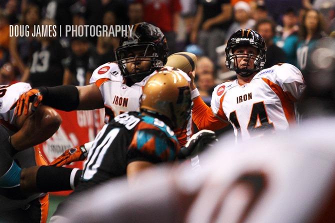 AFL: JUNE 05 Milwaukee Iron vs Arizona Rattlers at U.S. Airways Center Arena