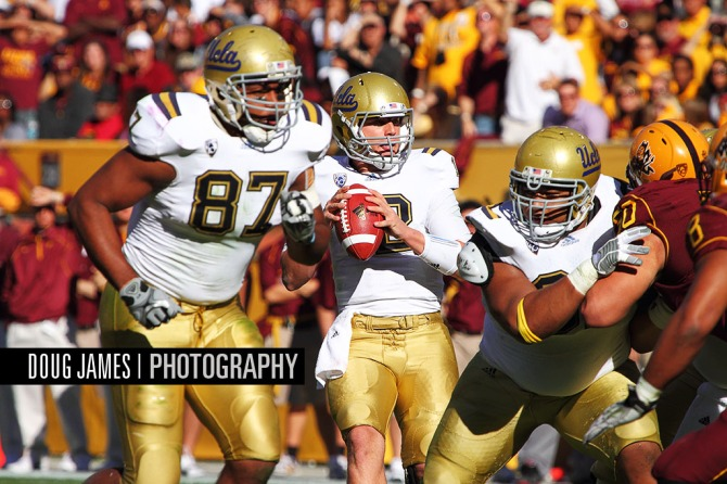 NCAA FOOTBALL: NOV 26 UCLA at Arizona State