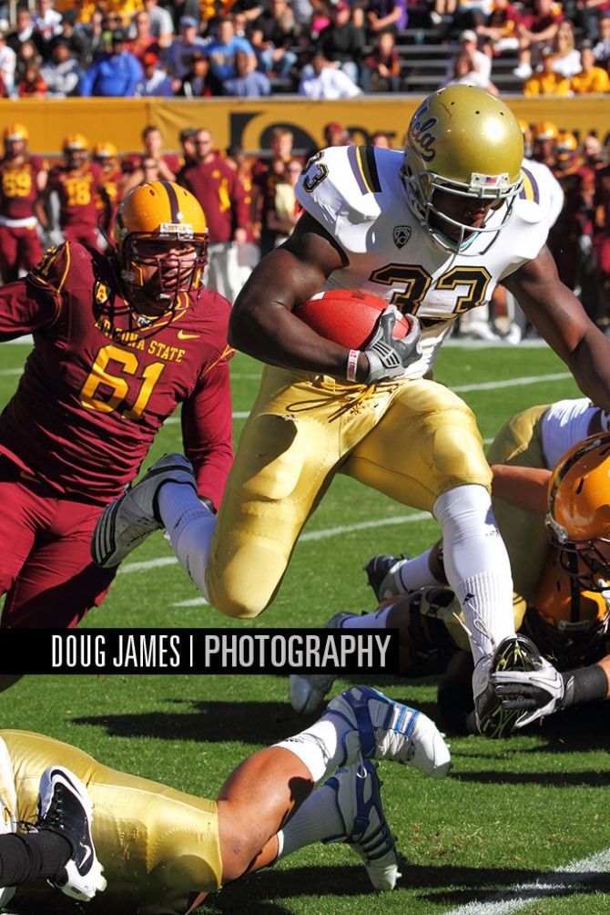 NCAA FOOTBALL: NOV 26 UCLA at Arizona State