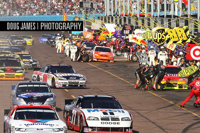 NASCAR: APR 10 SUBWAY Fresh Fit 600 Sprint Cup Series Race