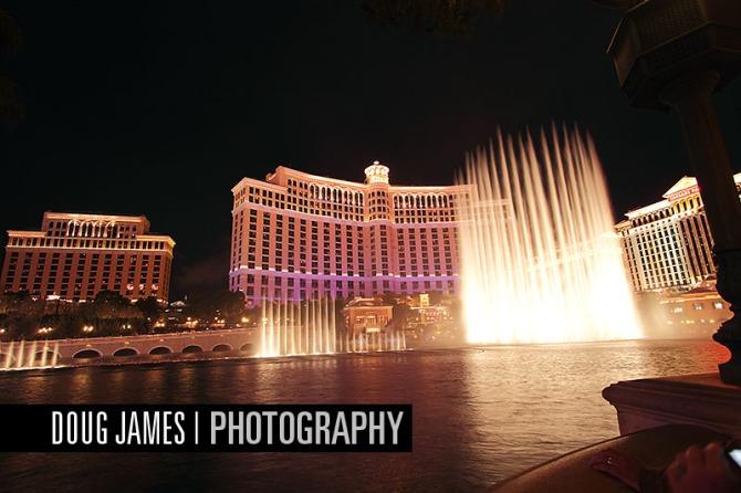 Bellagio resort in Las Vegas