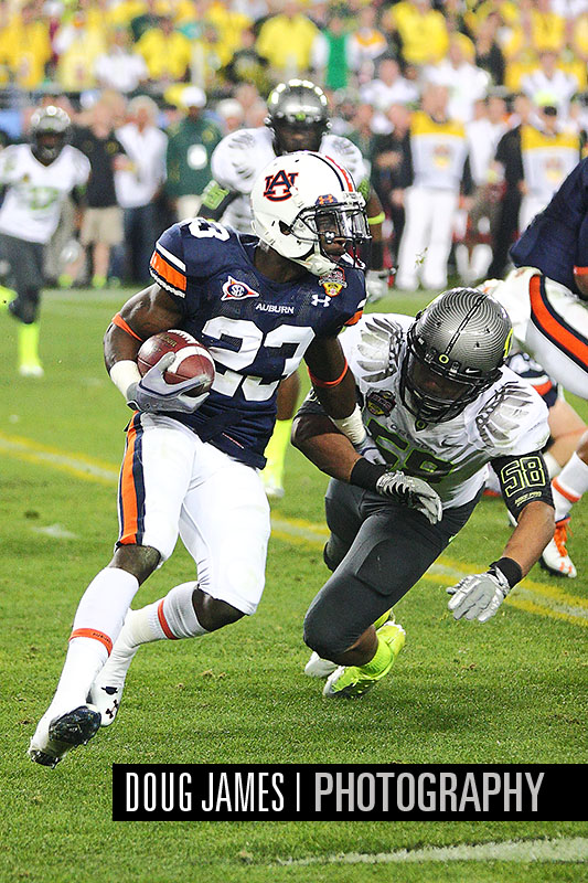 NCAA FOOTBALL: JAN 10 BCS Championship Game - Auburn v Oregon