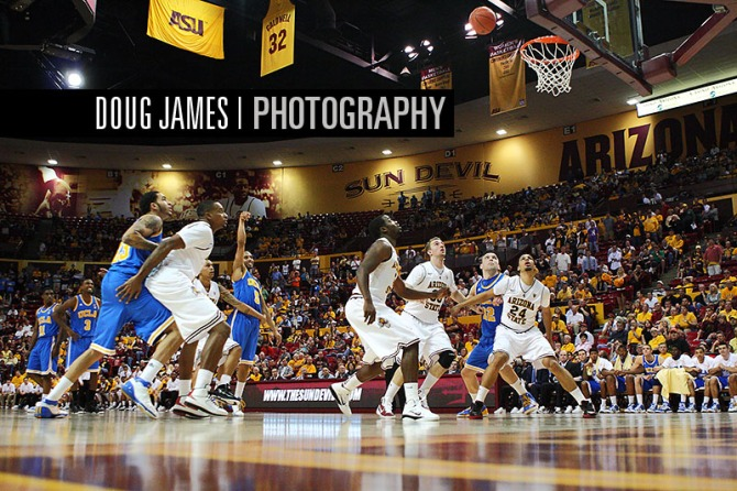 NCAA BASKETBALL: JAN 29 UCLA at Arizona State