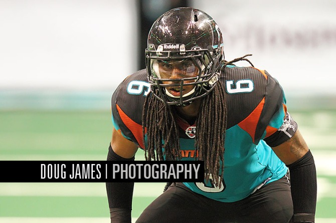 AFL: MAR 12 Jacksonville Sharks at Arizona Rattlers