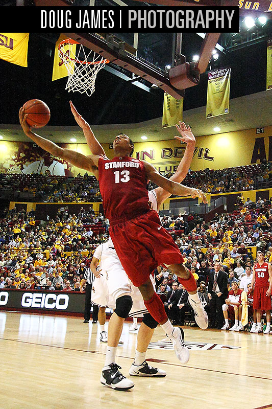 NCAA BASKETBALL: JAN 06 Stanford at Arizona State