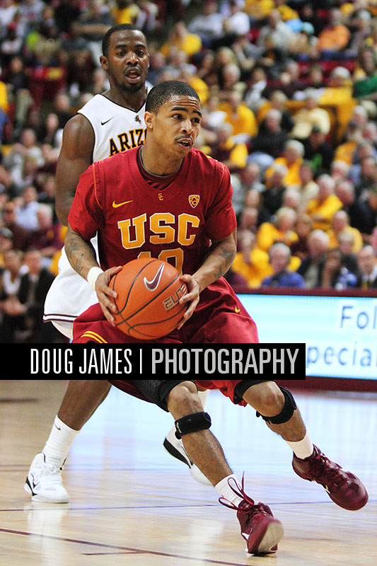 NCAA BASKETBALL: JAN 27 USC at Arizona State