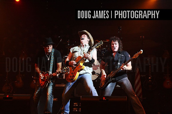 "Ted Nugent, ""The Motor City Madman"" performs for fans"