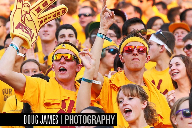 NCAA FOOTBALL: SEP 01 UC Davis at Arizona State