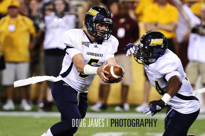 NCAA FOOTBALL: AUG 30 Northern Arizona at Arizona State
