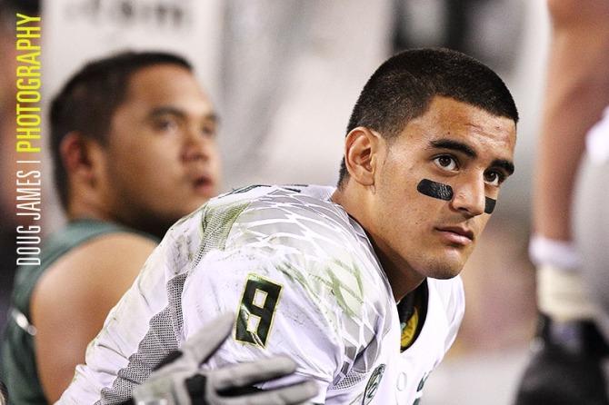 NCAA FOOTBALL: OCT 18 Oregon at Arizona State