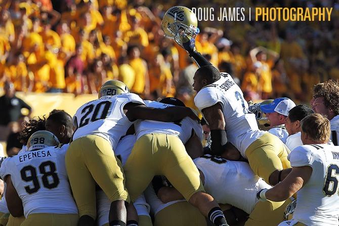 NCAA FOOTBALL: OCT 27 UCLA at Arizona State