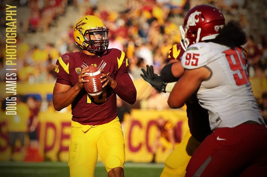 NCAA FOOTBALL: NOV 17 Washington State at Arizona State