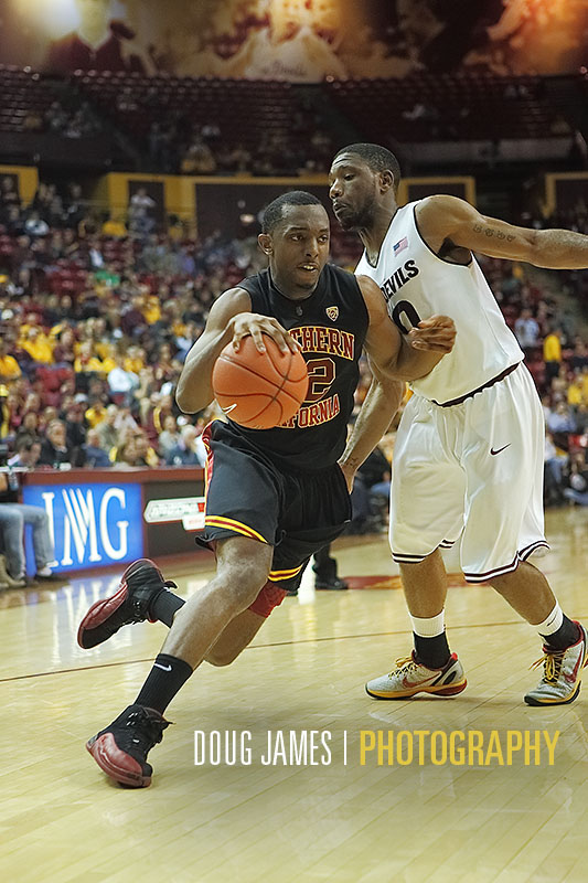 NCAA BASKETBALL: JAN 24 USC at Arizona State