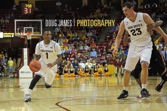 NCAA BASKETBALL: JAN 24 USC at Arizona State