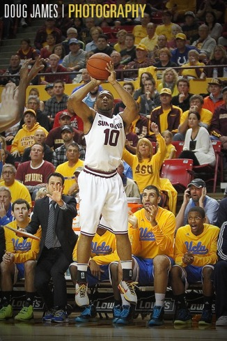 NCAA BASKETBALL: JAN 26 UCLA at Arizona State